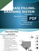 Operasi Filling Draining Sistem