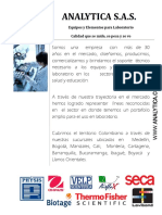 Catalogo Analytica