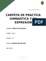 Gimnasia y Su Deporte.