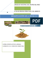 Manual de Densificación de La Biomasa