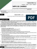 Hcv Tiempos de Cambio 16 Oct 16