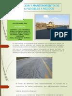 Conservacion y Mantenimiento de Pavimentos Flexibles