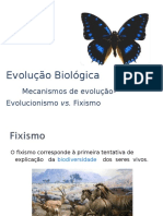 12-Fixismo e Evolucionismo