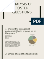 Analysis of Poster Questions