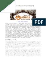 O Uso Dos Salmos Na Devoção Cristã - Franklin Ferreira