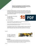 Descripción y Partes de Los Implementos de Labranza Primaria Secundaria y de Labores Complementarias