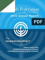 2015 Annual Report - Jewish Federation of Columbus