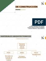 Materiales Arquitectonicos- Aglomerantes - Concreto