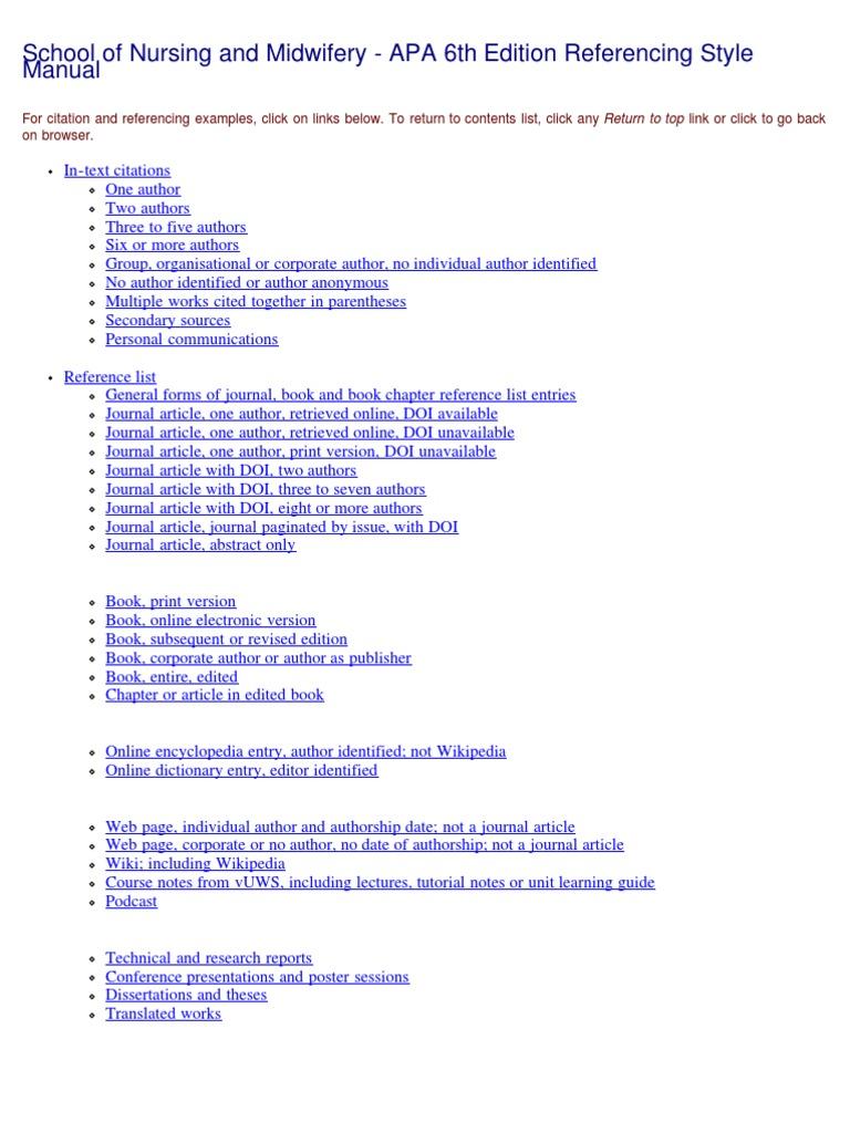 Dissertation sample psychology