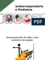 [2016.01] Treinamento de Parada Cardiorrespiratória Em Pediatria