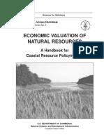 Economic Valuation Natural Resources Web