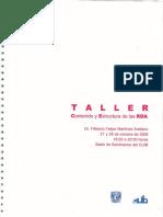 Contenido y Estructura RDA