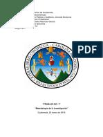 TI-1 Metodología de La Investigación