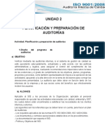 Unidad 2 Planificacion y Preparacion de Auditorias