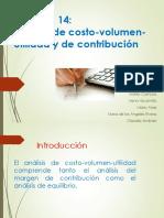 Análisis de Costo-Volumen-utilidad y de Contribución - TECÚN - Dirección Estratégica II