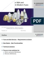 New Solutions for S&a and Firing Functions in Modern Fuzes