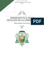 Hermeneutica de La Teologia de La Liberacion