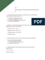 Banco de Preguntas, Capitulo 35, histologia, fisiologia