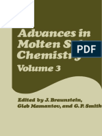 Advances in Molten Salt Chemistry - Volume 3