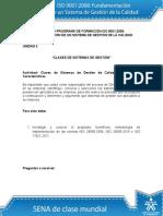 Desarrollo Actividad Unidad 2 ISO