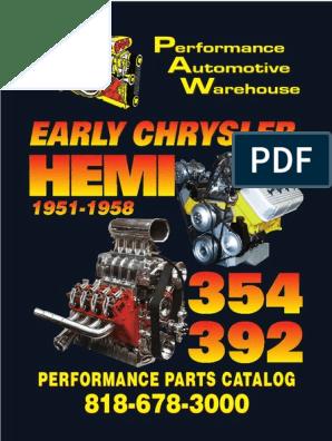 Hemi Web Catalog | Piston | Vehicle Technology