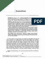 ASTM - Melting of Superalloys