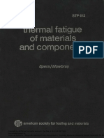 ASTM - Thermal Fatigue of Materials and Components
