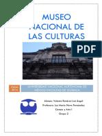Tarea del Museo Nacional de Las Culturas