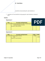 Accounting Problem Set - Financial and Managerial Accounting