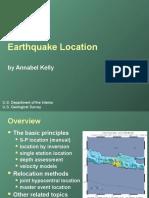 EQ Location USGS
