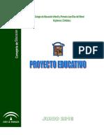 PROYECTO EDUCATIVO 2016