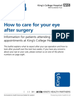 How to Care for Your Eye After Surgery