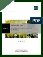 Guia de Estudio 2 Herramientas informaticas para matematicas UNED