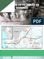 Derrame de Petróleo en Chiriaco Ucss