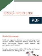 PPT Krisis Hipertensi Dan Aritmia