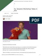 E is for Empathy_ Sesame Workshop Takes a Crack at Kindness _ NPR Ed _ NPR
