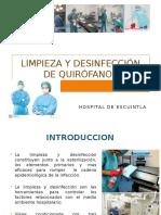 Limpieza y Desinfección de Quirófanos