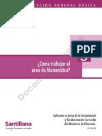 Santillana - Aplicacion y practica de la AFC (5) - Como trabajar el área de Matematica.pdf