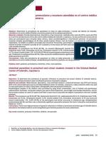 P ar asitosis  intestinal  en  preescolares  y  escolares