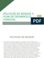 Politicas de Bosque