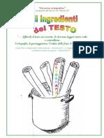 Ingredienti Del Testo_ORTOGRAFIA
