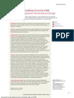 Transfusion Guideline JAMA