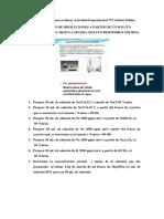 Ejercicios previos para realizar Actividad Experimental Nº2 (Soluto Sólido)