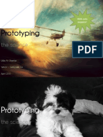 Science of Prototyping (with cute puppies!)