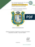 Universidad Tecnológica de Los Andes Inventario de Aves