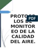 Trabajo Final Protocolos de La Calidad Del Aire 1