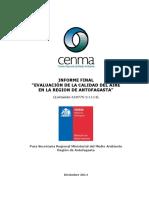 Informe Calidad Del Aire Diciembre 2014 CENMA