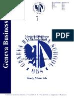 COR 601 - Study Materials