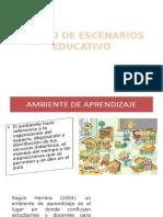 1. ESCENARIOS EDUCATIVOS