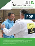 Gaceta Distrital de Barranquilla No. 419 (Alcaldía Distrital de Barranquilla)